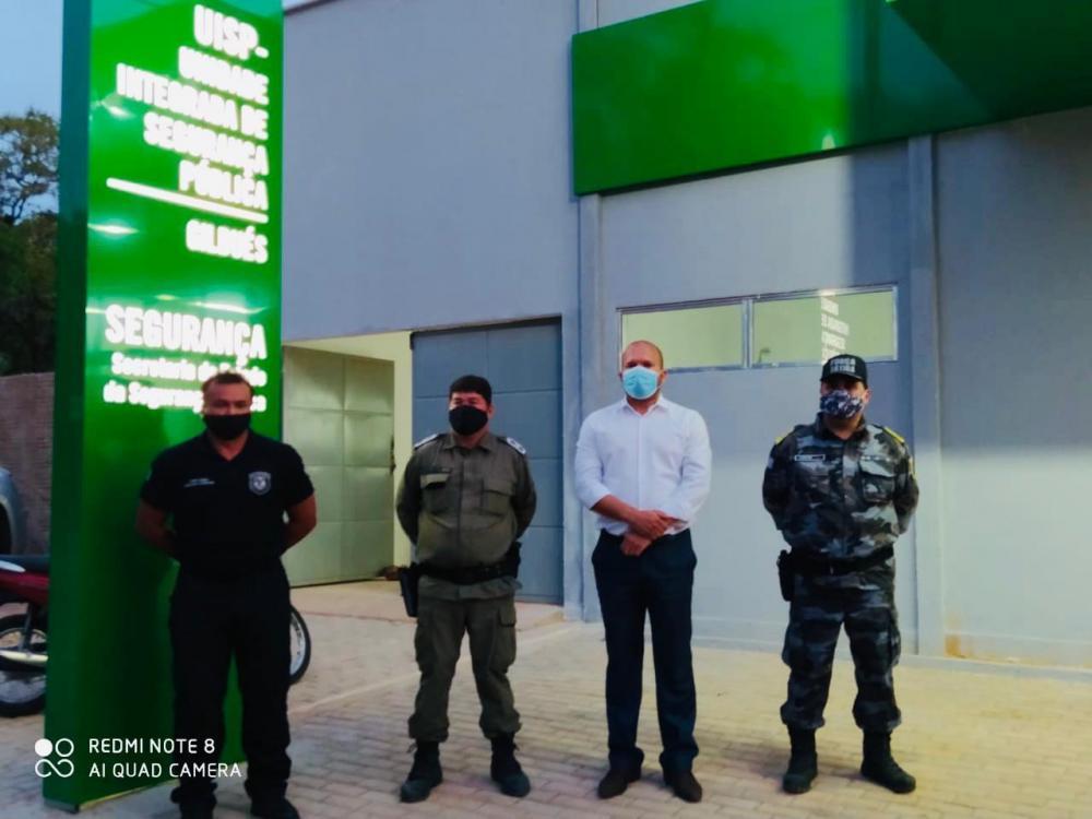 Gilbués| Nova delegacia é inaugurada com a presença do Cap. Fábio Abreu e do Major Carlos