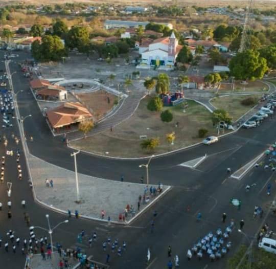 Vista aérea (Praça Padre Raimundo)