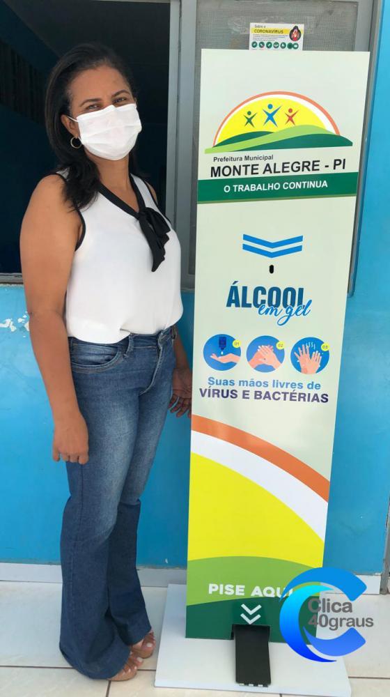 Secretária Munic. de Saúde Arlete Duarte