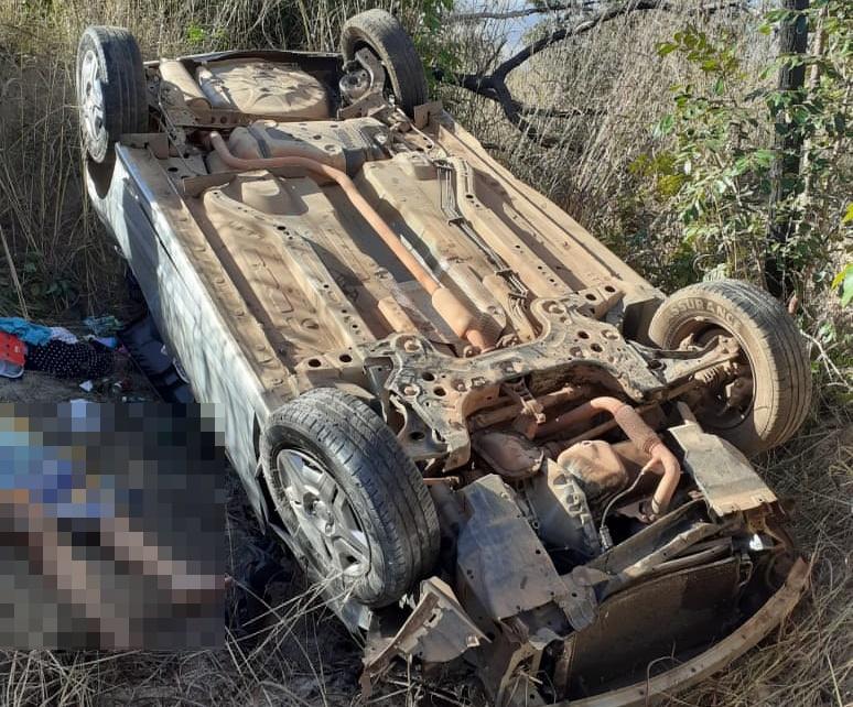Acidente grave na BR 135 próximo a cidade de Corrente, Sul do Piauí