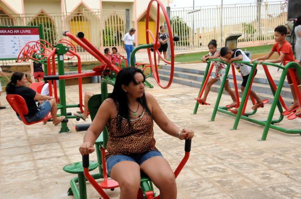 Saúde implanta 111 academias públicas em 79 municípios do Piauí