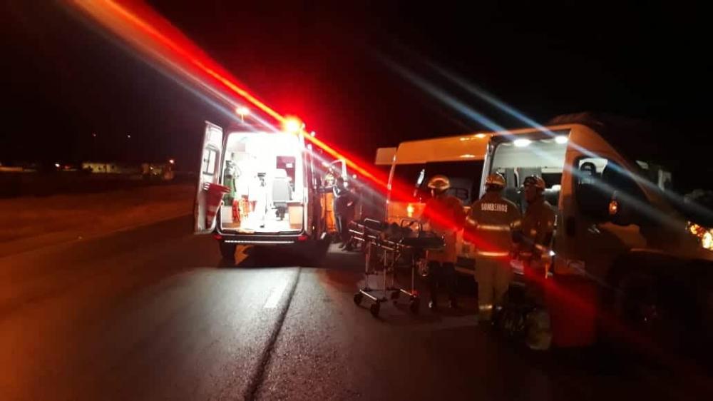 Acidente com micro-ônibus que saiu de Monte Alegre deixou 5 feridos no DF.
