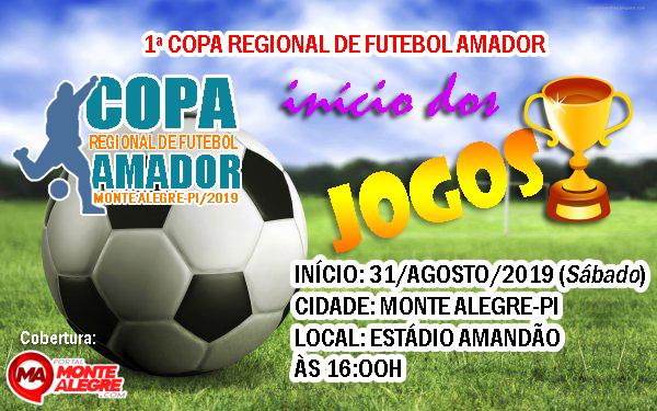 Copa Regional de Futebol Amador começa neste sábado 31, confira os jogos!