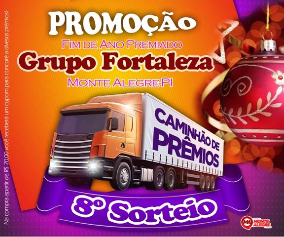 Promoção Fim de Ano - Grupo Fortaleza em Monte Alegre. Confira