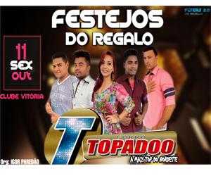 Festa no Povoado Regalo em Monte Alegre com a Banda Forró Topado