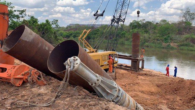 Ministro destaca avanços nas obras da ponte de Santa Filomena-PI