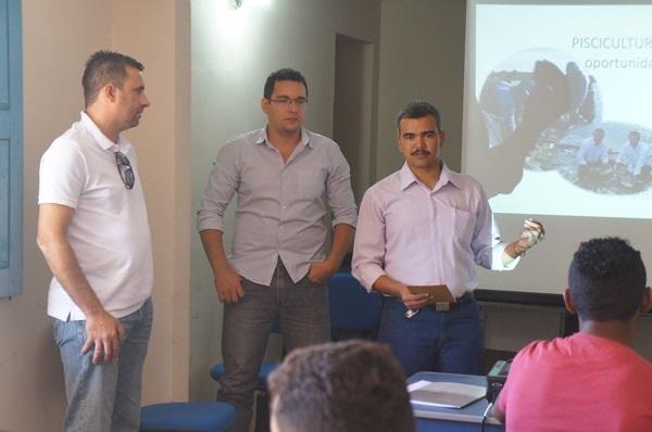 Sala do empreendedor em Monte Alegre realizou a palestra com técnico do SEBRAE