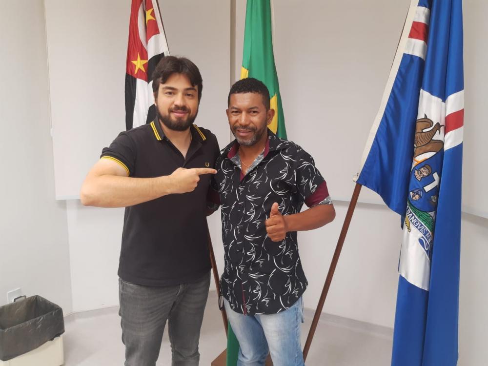 Vereador Dijalma Mascarenhas visita gabinete do prefeito de Guarulhos-SP