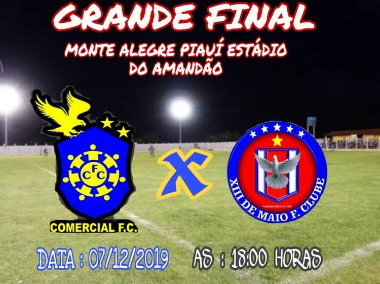 XIII de Maio e Comercial disputará a final da Copa Regional de Futebol Amador