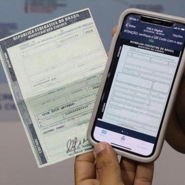 CRLV digital estará disponível no Piauí a partir de sexta (14)