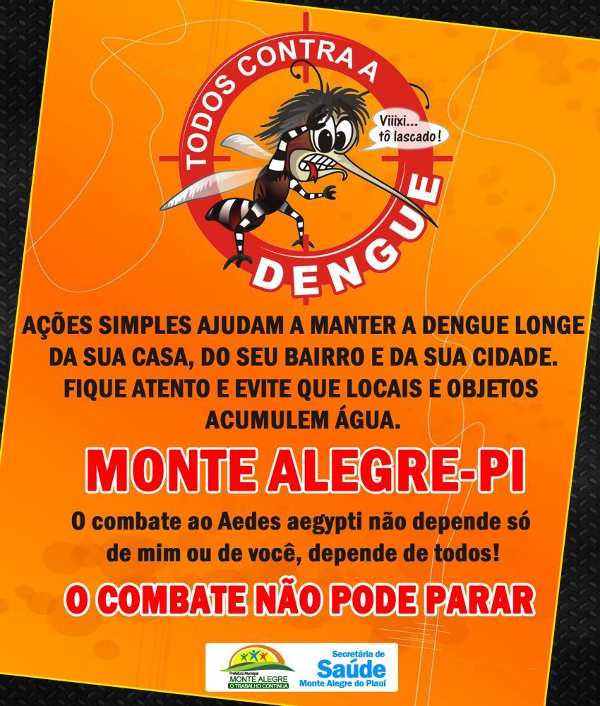 Secretaria de Saúde reforça ações e cuidados de limpeza contra o mosquito da dengue